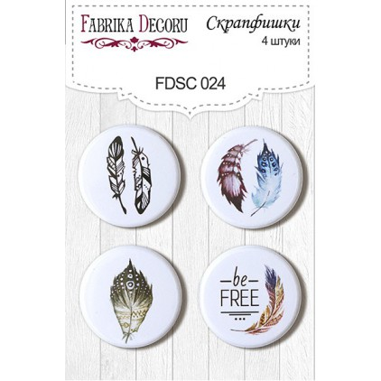 Selfadhesive buttons/badge - Fabrika Decoru - 024