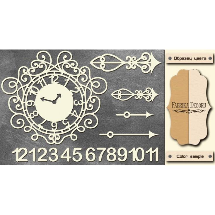 Set of cardboard - Chipboard - Fabrika Decoru-FDCH 072