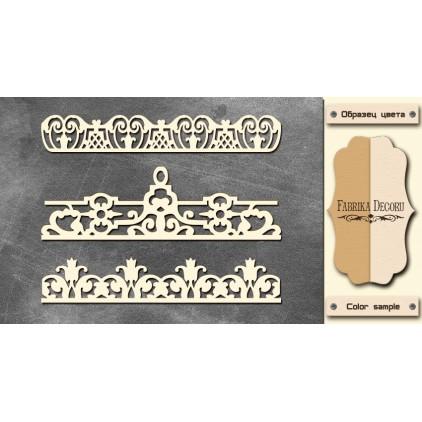 Zestaw tekturek - Tekturka - Fabrika Decoru -Laces 3 -  FDCH 096
