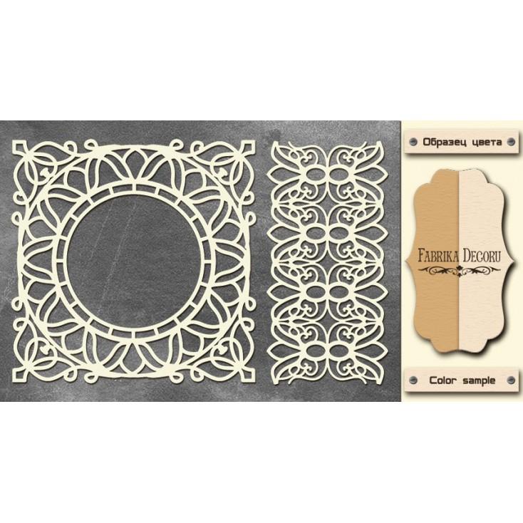 Set of cardboard - Chipboard - Fabrika Decoru-FDCH 088