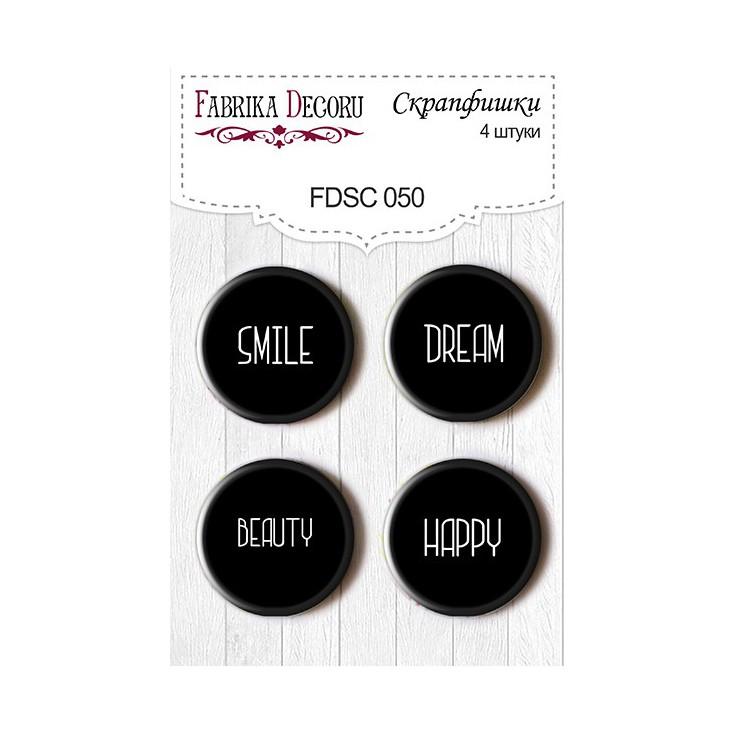 Selfadhesive buttons/badge - Fabrika Decoru - 050