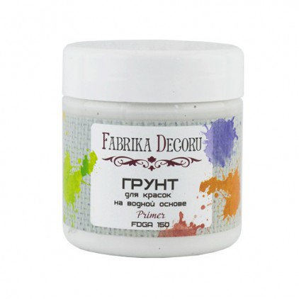 Acrylic primer for paints - Fabrika Decoru - 150ml