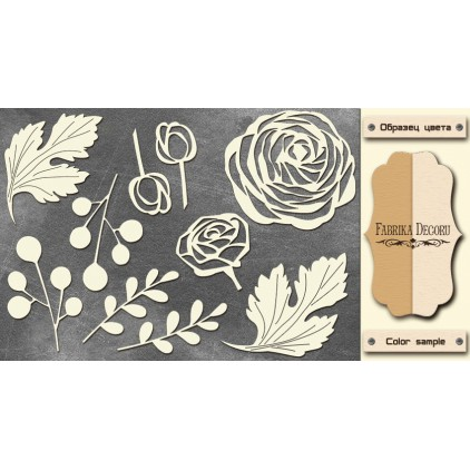 Set of cardboard - Chipboard - Fabrika Decoru - FDCH 138