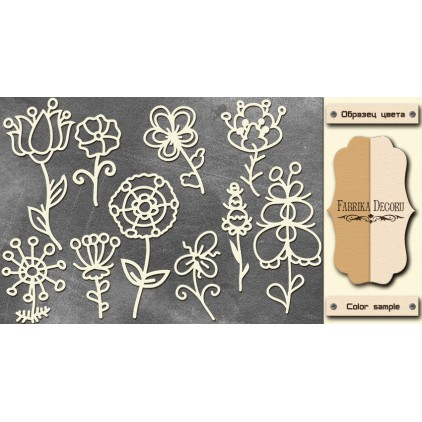 Set of cardboard - Chipboard - Fabrika Decoru- FDCH 071