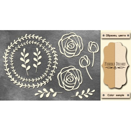 Set of cardboard - Chipboard - Fabrika Decoru- FDCH 137
