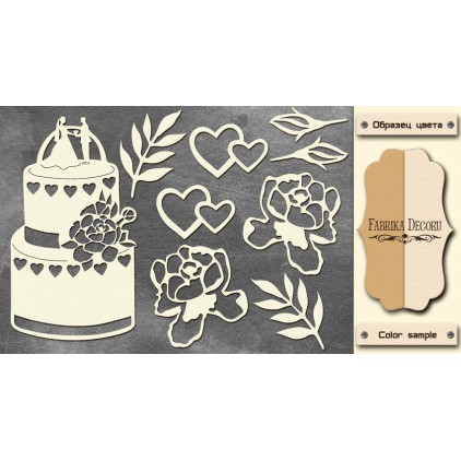 Set of cardboard - Chipboard - Fabrika Decoru-FDCH 122