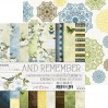 Pad of scrapbooking papers - Craft O Clock - ...And Remember