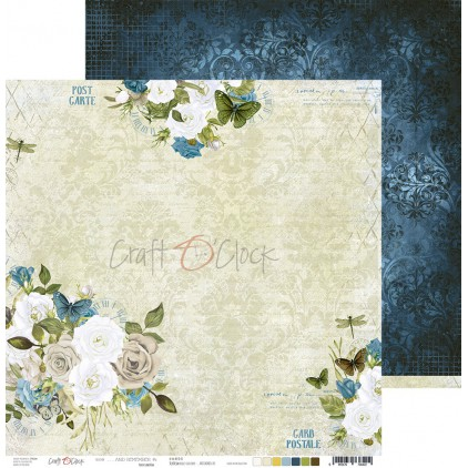 Papier do tworzenia kartek i scrapbookingu - Craft O Clock - ...And Remember - 01