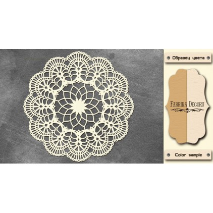 Tiny flower napkin - Chipboard - Fabrika Decoru FDCH 221