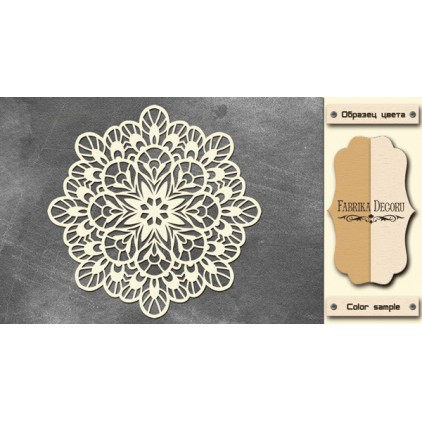Tiny flower napkin - Chipboard - Fabrika Decoru FDCH 223
