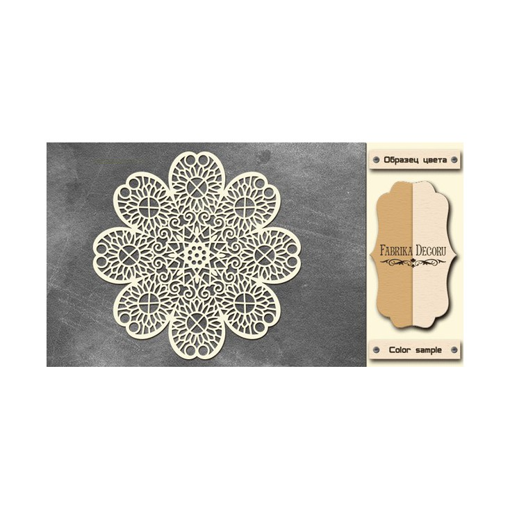 Tiny flower napkin - Chipboard - Fabrika Decoru FDCH 230