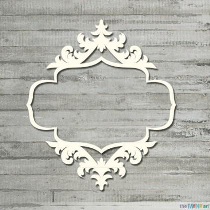 Vintage frame 2 - L - Cardboard element - the MiNi art