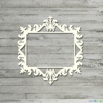 Vintage frame 4 - M- Cardboard element - the MiNi art