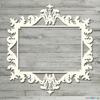 Vintage frame 4 - L- Cardboard element - the MiNi art