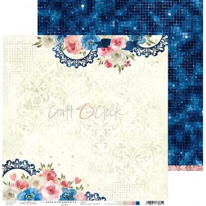 Papier do tworzenia kartek i scrapbookingu - Craft O Clock - Bold&Glamour - 01