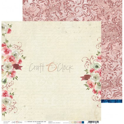 Scrapbooking paper - Craft O Clock - Bold&Glamour - 02