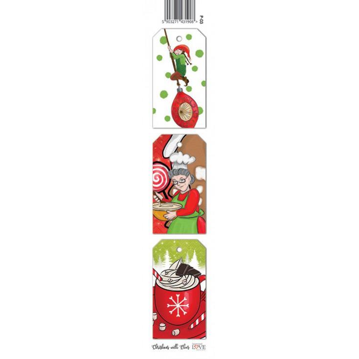 Strip - Christmas with elves - 03 - Laserowe LOVE