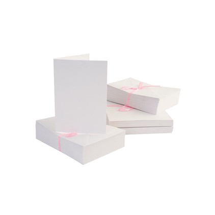 Anita's blank card and envelope - C6 - white.