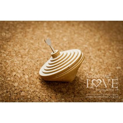 Cardboard -3D swirl- Vintage Baby - LA18255 - Laserowe LOVE