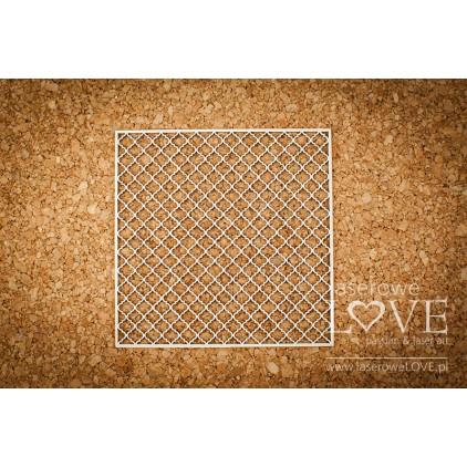 Tekturka - Tło siatka - Vintage Ornaments - LA18227- Laserowe LOVE