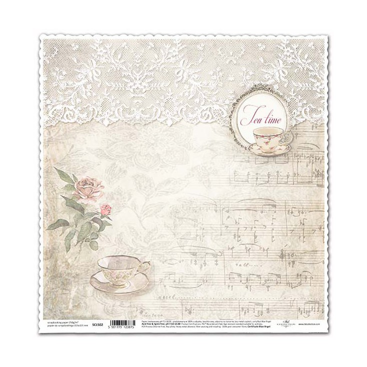 Papier do scrapbookingu - SCL502 - ITD Collection
