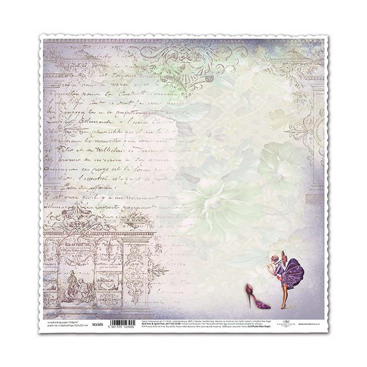 Scrapbooking paper -ITD Collection - SCL505