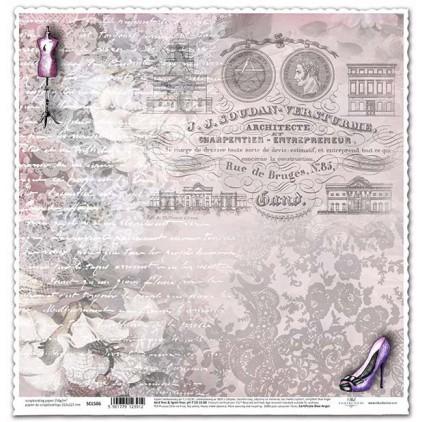 Papier do scrapbookingu - SCL506 - ITD Collection