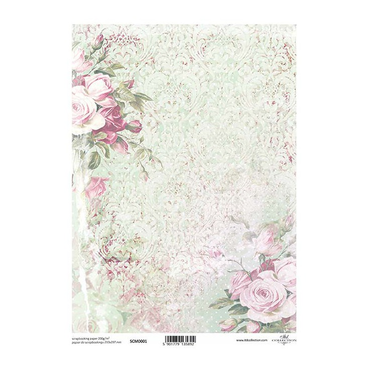 Scrapbooking paper A4 - SCM001 - ITD Collection