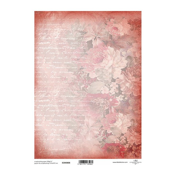 Scrapbooking paper A4 - SCM008 - ITD Collection