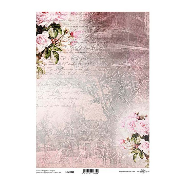 Scrapbooking paper A4 - SCM017 - ITD Collection