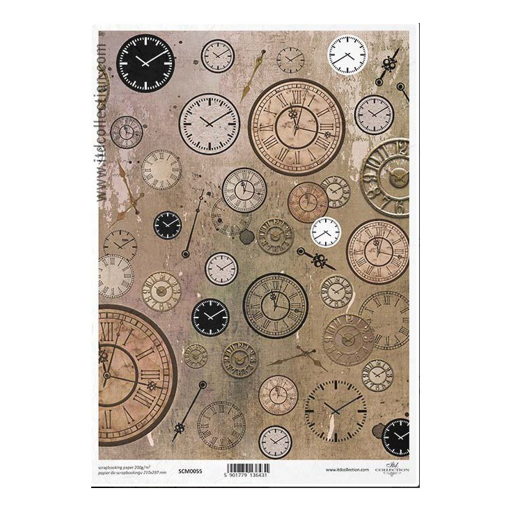 Scrapbooking paper A4 - SCM055 - ITD Collection
