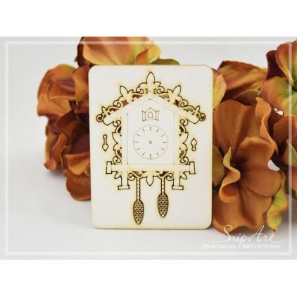 Cardboard- Cuckoo clock - small -SnipArt