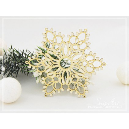 Cardboard - Snowflakes XXL 2 -SnipArt