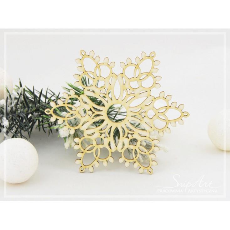 Cardboard - Snowflakes XXL 2 -SnipArt