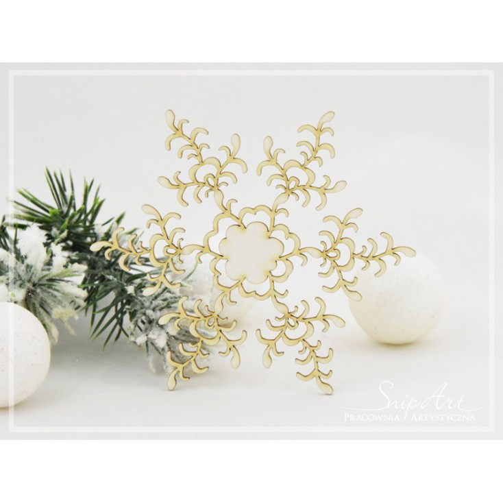 Cardboard - Snowflakes XL 3 -SnipArt