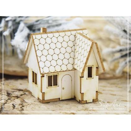 Cardboard - Mini house - house 3D -SnipArt