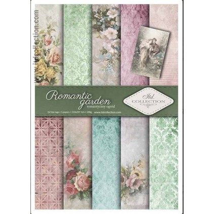Set of scrapbooking papers - A4 - SCRAP009 - ITD Collection