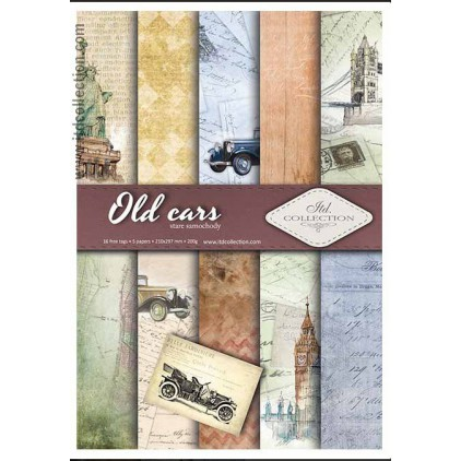 Set of scrapbooking papers - A4 - SCRAP010 - ITD Collection