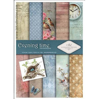 Set of scrapbooking papers - A4 - SCRAP011 - ITD Collection
