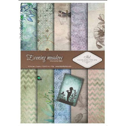 Set of scrapbooking papers - A4 - SCRAP012 - ITD Collection