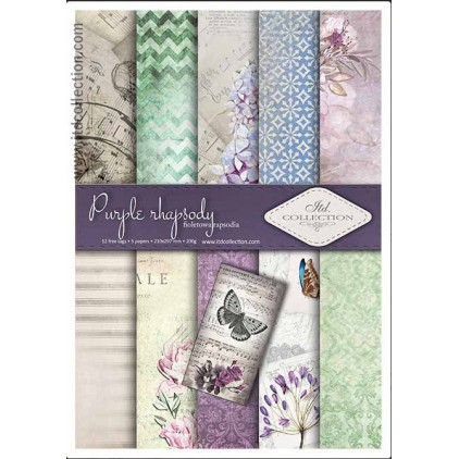 Set of scrapbooking papers - A4 - SCRAP013 - ITD Collection