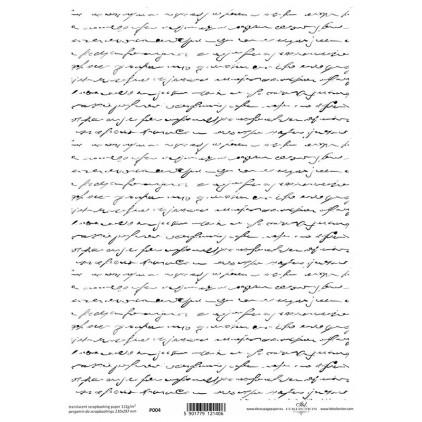 Papier pergaminowy drukowany, kalka - P0004- ITD Collection
