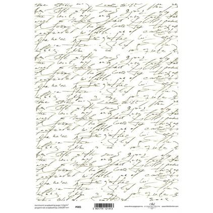 Papier pergaminowy drukowany, kalka - P0005- ITD Collection