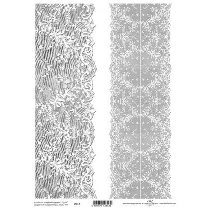 Papier pergaminowy drukowany, kalka - P017- ITD Collection