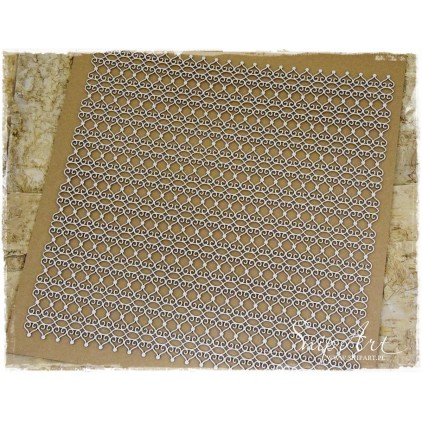 Cardboard - 30x30 background - LACE-SnipArt