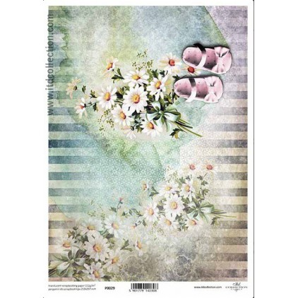 Papier pergaminowy drukowany, kalka - P029- ITD Collection