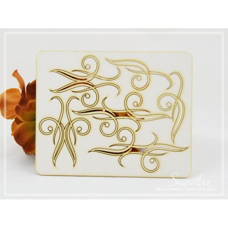 "Cardboard - Ornamenty ""Dream Love"" - set - SnipArt"