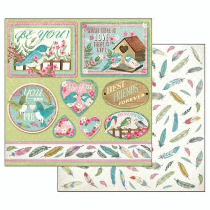 Scrapbooking paper - SBB492 - Stamperia
