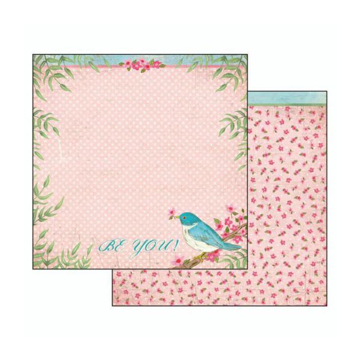 Scrapbooking paper - SBB491 - Stamperia