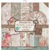 Zestaw papierów do tworzenia kartek i scrapbookingu - Stamperia - Roses & Laces - SBBL25
